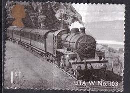 Great Britain 2011 - Classic Steam Locomotives Of England - Usados