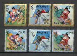 Bhutan (Bhoutan) - 3213/ N° 123/128 Scout ( Pfadfinder Scouting - Jamboree Scouts) Overprint Idaho Usa ** MNH - Bhutan