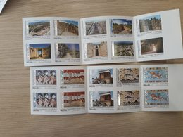 GREECE STAMPS 2019/ARCEALOGICAL AREAS(4different Booklets)-MNH-SELF ADHESIVE-BOOKLET-22/7/19 - Grecia
