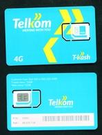 KENYA - Mint Telkom T-Cash SIM Phonecard With Chip - Kenya