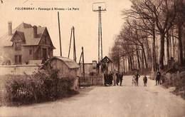 02 - Folembray - Passage à Niveau - Le Parc (animée, Sime Bromure Breger) - Otros Municipios