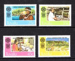 Tuvalu  - 1983. Telecomunicazione: Sistemi: Vocale,radio,pc,spazio. Telecommunication Systems: Voice,radio,pc,space MNH - Telecom