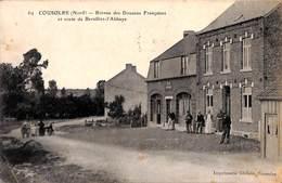 59 - Coulsore - Bureau Des Douanes Françaises Et Route De Bersillies-l'Abbaye (animée 1908) - France