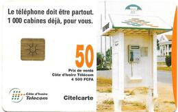 @+  Cote D'Ivoire - Citelcarte - Téléphone Box (Gem1B) - Ivoorkust