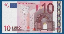 GERMANIA - 2002 - BANCONOTA DA 10 EURO SERIE X (R023A4) - NON CIRCOLATA (FDS-UNC) - IN OTTIME CONDIZIONI. - EURO