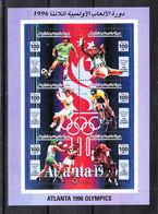 Libia   Lybia  - 1996: Calcio,ciclismo,boxe,ippica,tennis.Soccer, Cycling, Boxing, Horse Racing,tennis. Complete MNH Set - Summer 1996: Atlanta