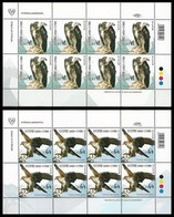 CYPRUS CHIPRE CHYPRE ZYPERN 2019 EUROPA BIRDS 2 Sheetlets Of 8 Stamps MNH ** - 2019
