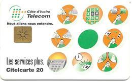 @+  Cote D'Ivoire - Citelcarte - Télécom Services (Gem1B) - Ivoorkust