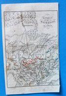 Bataille De Waterloo Par A.M.Perrot, Carte Ancienne Gravé Par P.Tardieu - Geographical Maps