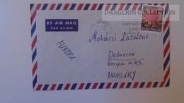 D165593  Australia -Cover - -stamp Waratah Cancel Canberra Ca 1970 - 1966-79 Elizabeth II