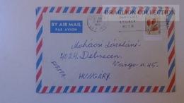 D165594 Australia -Cover - -stamp  Callistemon Teretifollius -  Cancel Canberra Ca 1976 - 1966-79 Elizabeth II