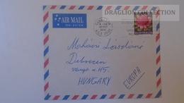 D165595 Australia -Cover - -stamp  Waratah -  Cancel Canberra Ca 1970 - 1966-79 Elizabeth II