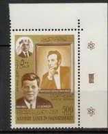 Aden - 1029a Kathiri State Of Seiyun - N° 164A Lincoln - Kennedy COTE 5.5 - Ver. Arab. Emirate