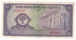 South Vietnam, 200 Dong 1958, CRISP VF/XF. - Vietnam
