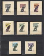 ++ 1965 Hunting Birds 1 Kop Nominal In Different Colour Thick Paper Colour Proof - Essais & Réimpressions
