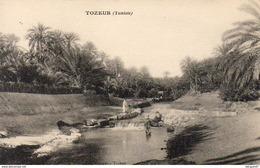 TUNISIE  TOZEUR  L'Oued - Túnez