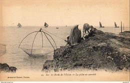D44  Sur Les Bords De L'Océan  La Pêche Au Carrelet    .....  (Ref C399 ) - Visvangst