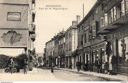 D38   BOURGOIN  Rue De La République         ..............      (Ref D338) - Bourgoin
