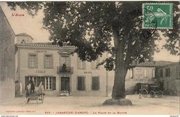 D11  LABASTIDE D'ANJOU  La Place De La Mairie - Frankrijk