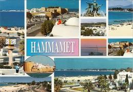 *CPM - TUNISIE - HAMMAMET - Multivues - Tunesië
