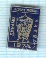 USSR / Badge / Soviet Union / UKRAINE / Football. FC Dynamo Kiev. Cup 1974 - Football