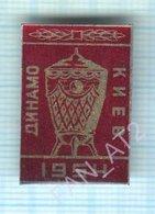 USSR / Badge / Soviet Union / UKRAINE / Football. FC Dynamo Kiev. Cup 1954 - Football