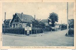 D91  VILLEMOISSON  Carrefour Des Chèvrefeuilles Mare Tambour - Sainte Genevieve Des Bois