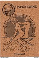 Les 12 Signes Du Zodiaque Erotique Carte Liège Lot De 12 CPSM KAMASUTRA  Ref D714B ) Pour Amateur Expérimenté Uniquement - 5 - 99 Cartoline