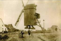 RAMSKAPELLE Bij Nieuwpoort (W.Vl.) - Molen/moulin - Molen Vergauwe, Kort Voor Zijn Verwoesting In 1914-1918. TOP! - Nieuwpoort