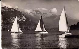 74 - LAC D'ANNECY - Les Trois Mousquetaires  - CPSM - Annecy