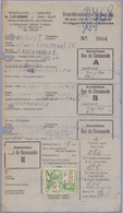 1946: Bestelbonnen Van ## Groot Adresboek Van Het Gentsche /  Grand Livre D'Adresses De L'Agglomération Gantoise ## :... - Imprenta & Papelería