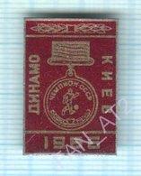 USSR / Badge / Soviet Union / UKRAINE / Football. FC Dynamo Kiev Is The Champion Of 1968. - Football