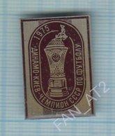 USSR / Badge / Soviet Union / UKRAINE / Football. FC Dynamo Kiev Is The Champion Of 1975. Cup. - Football