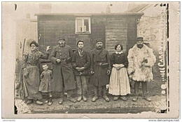CARTE PHOTO 1915 A Identifier - Guerra 1914-18