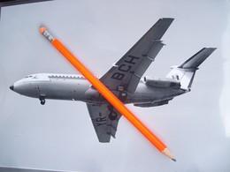 FOTOGRAFIA AEREO BAC 1.11 TAROM  YR-BOH A MALPENSA - Aviation
