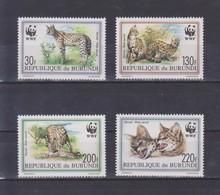 Burundi - 1992 WWF Serval ** - Big Cats (cats Of Prey)