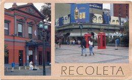 BARRIO DE RECOLETA, CIUDAD DE BUENOS AIRES, ARGENTINA POSTAL POSTALE CPA NON CIRCULE -LILHU - Argentina