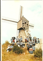"""Cpsm Gf -  49 - FONTEVRAUD -  Les Genêts D'Anjou """"moulin De La Herpiniere  246 - France"""