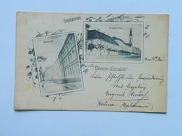 Hungary 133 Kalocsa 1899 Stephaneum As Litho - Ungheria