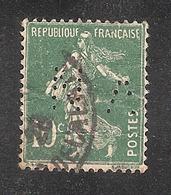 Perforé/perfin/lochung France No 159 VN Mines De Noeux-Vicoigne - Gezähnt (Perforiert/Gezähnt)