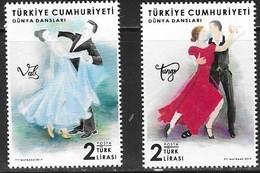 TURKEY, 2019, MNH, CULTURE, DANCING, 2v - Dance