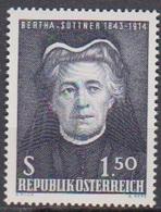 Österreich 1965 Nr.1199  ** Postfr. 60.Jahrestag Der Verleihung Des Nobelpreises An Berth ( 8738) Günstige Versandkosten - 1961-70 Ungebraucht