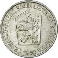 Monnaie, Tchécoslovaquie, 25 Haleru, 1963, TTB, Aluminium, KM:54 - Tchécoslovaquie
