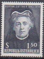 Österreich 1965 Nr.1199  ** Postfr. 60.Jahrestag Der Verleihung Des Nobelpreises An Berth ( 8739) Günstige Versandkosten - 1961-70 Ungebraucht