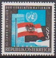 Österreich 1965 Nr.1197 ** Postfr. 10Jahre Mitglied Der UNO ( 8740) Günstige Versandkosten - 1961-70 Ungebraucht