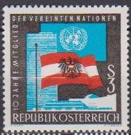Österreich 1965 Nr.1197 ** Postfr. 10Jahre Mitglied Der UNO ( 8742) Günstige Versandkosten - 1961-70 Ungebraucht