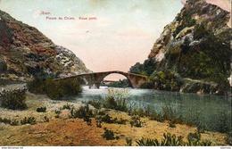 LIBAN  Fleuve Du Chien  Vieux Pont ( Carte Abimée à Droite ) - Lebanon