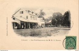 GUINÉE  CONAKRY  Les Établissements De Mr M.S. Brown,      ..........  Très Bon état - French Guinea