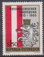 Österreich 1965 Nr.1196 ** Postfr. 10Jahre Mitglied Der UNO ( 8743) Günstige Versandkosten - 1961-70 Ungebraucht