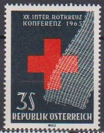 Österreich 1965 Nr.1195 ** Postfr. 20Jahre Intern, Rotkreuzkonferenz, Wien ( 8744) Günstige Versandkosten - 1961-70 Ungebraucht